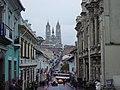 Quito AvVenezuela basilicadelvotonacional.JPG