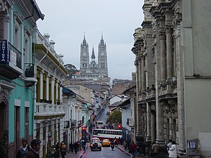 Eugenio Espejo - View of Quito today