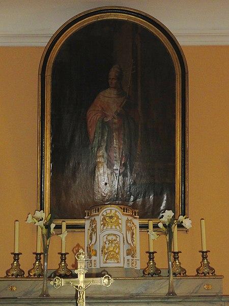 Réclonville (M-et-M) église, autel central