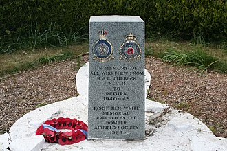 RAF Fulbeck - RAF Fulbeck memorial.