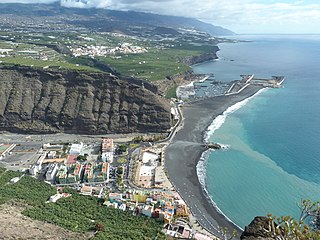 Tazacorte Municipality in Canary Islands, Spain