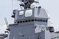 Radar antennas on JS DD115 Akizuki at Nagoya (2013 August 4th) 5.jpg