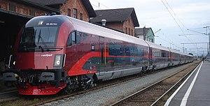 Railteam - Image: Railjet Oesterreich