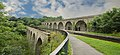 Railway Viaduct over River Ceiriog from the Chirk Aquaduct.jpg