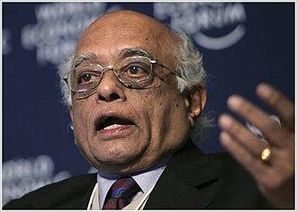 Rajagopala Chidambaram - Chidambaram at the 2008 annual meeting of the World Economic Forum in Davos, Switzerland.