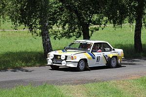 Rally Bohemia 2012 (historic show, SS23 Sychrov) - Opel Ascona 400.JPG