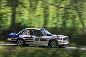 Rally Bohemia 2012 (historic show, SS27 Sychrov) - Opel Ascona 400 03.JPG