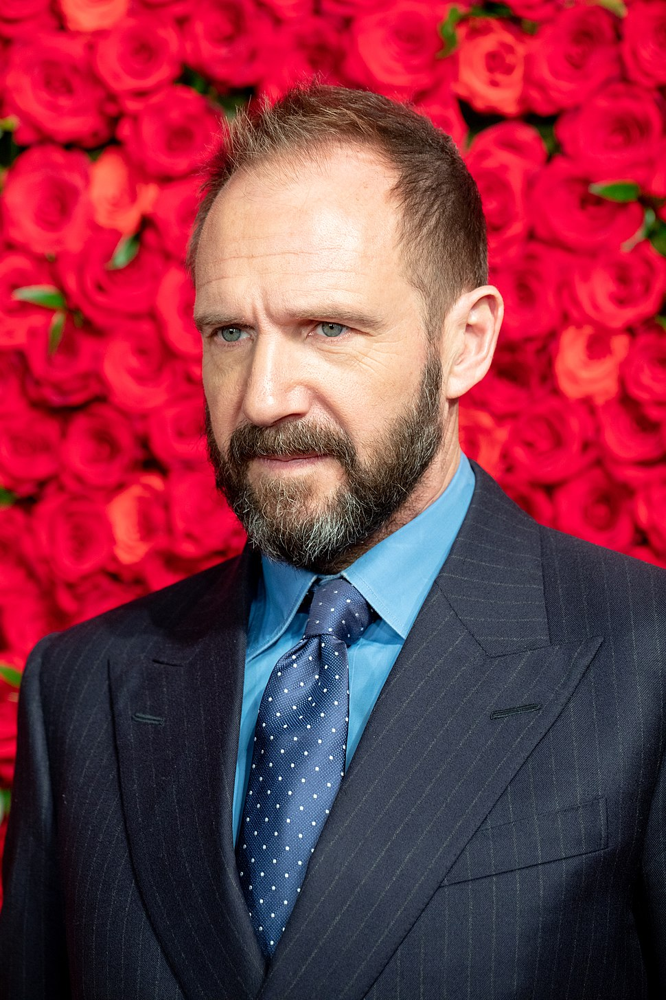 """Ralph Fiennes from """"The White Crow"""" at Opening Ceremony of the Tokyo International Film Festival 2018 (31747095048)"""