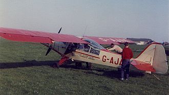 Ramsgate Airport - Thanet Flying Club Auster 5 G-AJAK.
