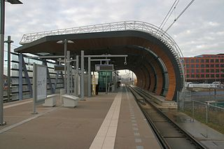 Leidschenveen RandstadRail station tram and metro station in The Hague