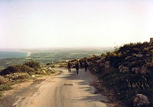 South Lebanon conflict (1985–2000) - IDF military patrol near Ras Biada (1986)