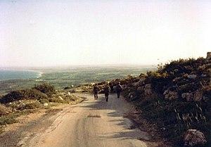 South Lebanon conflict (1985–2000) - IDF military patrol near Ras Biada (1986)