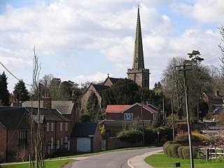 Ratcliffe on the Wreake village in Leicestershire, England, United Kingdom