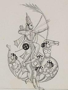 Rati Hindu goddess of love
