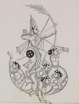 Rati Hindu goddess of love, lust and pleasure