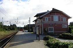 Raufoss railroad station.jpg