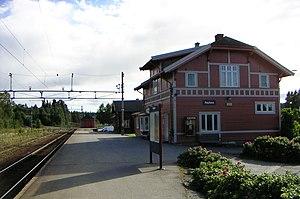 Gjøvik Line - Raufoss Station