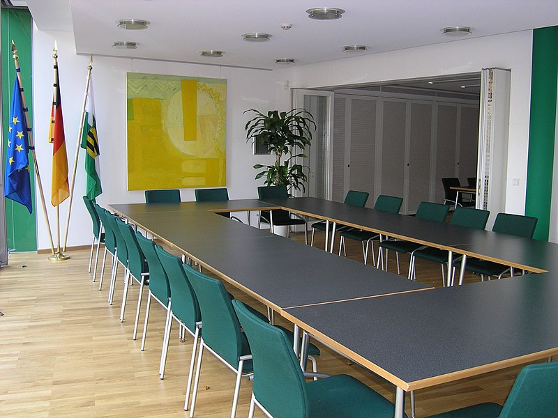 "Room ""Dresden"" in the Saxony Liaison Office Brussels"