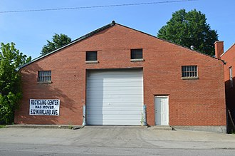 National Register of Historic Places listings in Estill County, Kentucky - Image: Ravenna Motor Vehicle Service Building