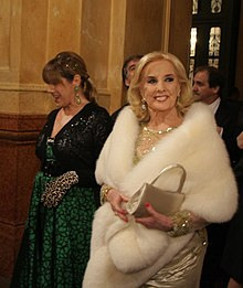 Mirtha in 2010
