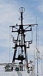 Rear mast of JCG Settsu(PLH-07) right behind view at Port of Kobe July 22, 2017.jpg