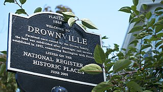 Alfred Drowne Road Historic District United States historic place