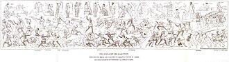 Polygnotus - Reconstruction of Marathon by Polygnotus 1895