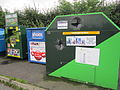 Recycling banks on Higher Road, Halewood (2).JPG