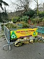 Recycling point for Christmas tree, Paris.jpg