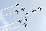 Red Arrows in formation.JPG