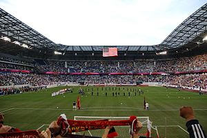 New York Red Bulls - Opening day at Red Bull Arena against Santos FC, March 20, 2010