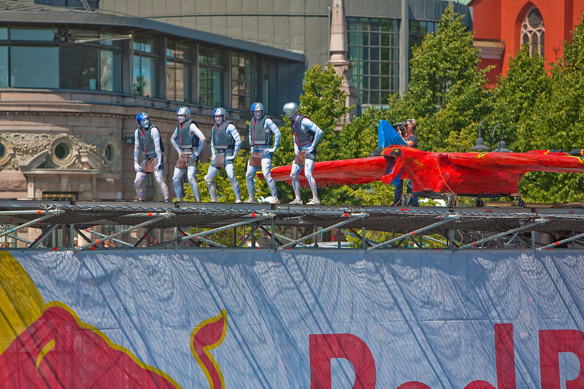 Contraptions Fly, Crash At Regatta's First Flugtag Competition