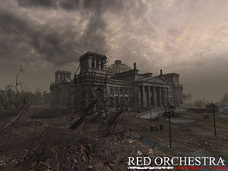 Red Orchestra: Ostfront 41-45 - Red Orchestra environment depicting the German Reichstag