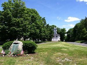 Redding, Connecticut - Redding Center in Redding, Connecticut