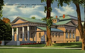 Redwood Library and Athenaeum - Image: Redwood Library