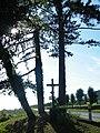 Regnière-Ecluse, Somme, Fr, calvaire d'entrée.jpg