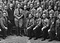Reichsführerschule der NSDAP Geschäftsstelle Schellingstraße 50 (?) München SS Schutzstaffel members c. 1932 Hitler Heinrich Himmler Kurt Kühme Adolf Egeberg jr etc National Archives NARA Unrestricted No known copyright 242-HF.jpg