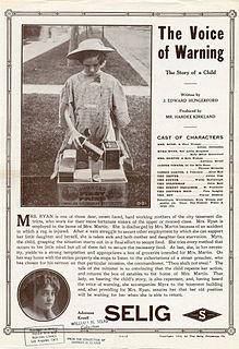 <i>The Voice of Warning</i> 1912 film by Hardee Kirkland