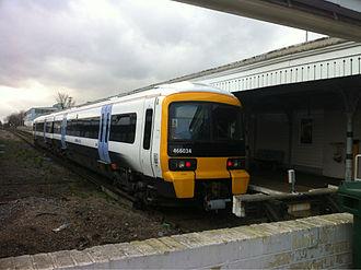 British Rail Class 466 - A refurbished Class 466