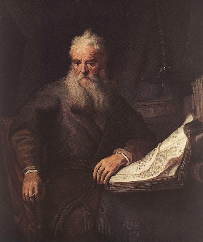 Rembrandt - Apostle Paul - WGA19120
