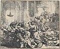 Rembrandt - Cristo expulsando os mercadores do templo, 1635.JPG