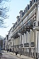 Repetitive gables with lovely decorations at Spijkerstraat Arnhem - panoramio.jpg