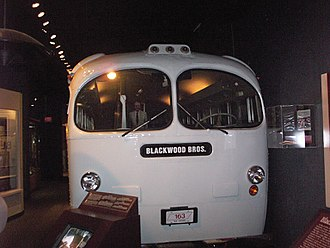 The Blackwood Brothers - A replica of The Blackwood Brothers' tour bus at the SGMA Museum