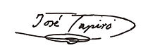 Reproduction de Signature de Josep Tapiró.jpg