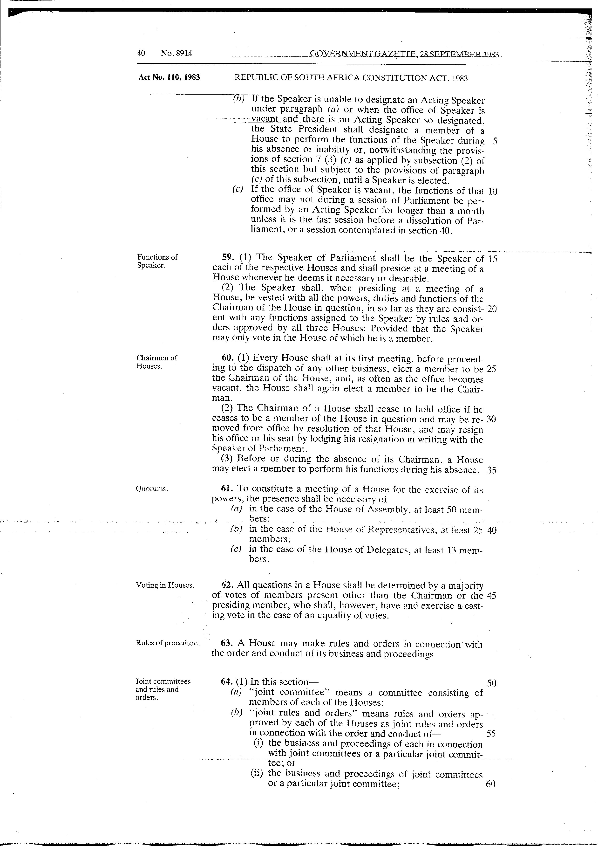 page:republic of south africa constitution act 1983 from
