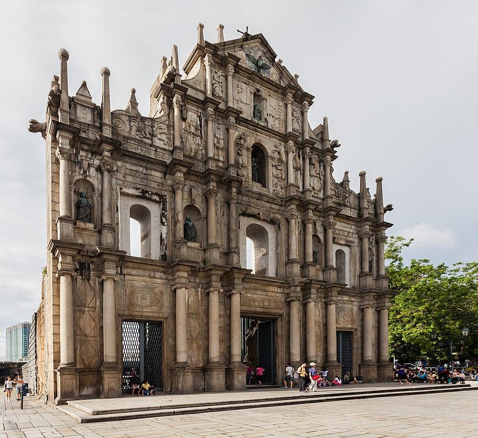 Restos de la Catedral de San Pablo, Macao, 2013-08-08, DD 05