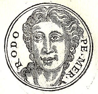 Rhodope (mythology) - Rhodope from Guillaume Rouillé's Promptuarii Iconum Insigniorum