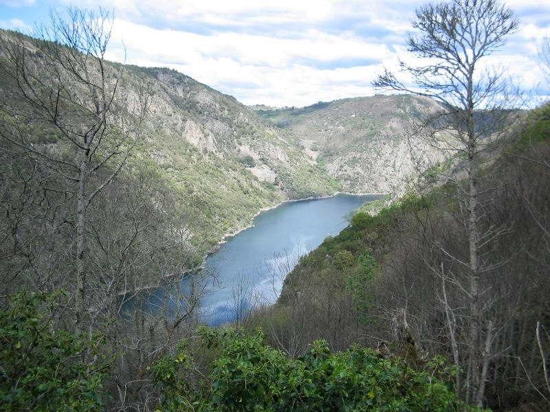 Ribeira Sacra. Río Sil