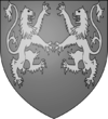 Richard I of England Arms bw.png