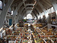 Richard Plüddemann Market Hall photo interior 1 Wrocław Poland 2006-04-25